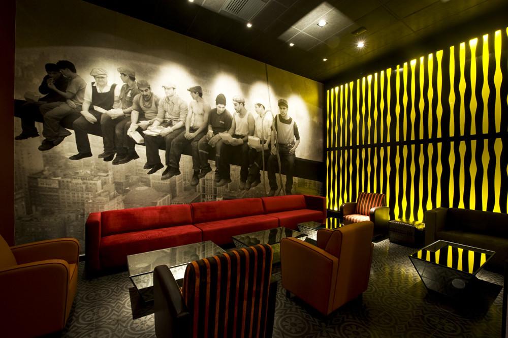Galería de pub art deco lounge seinfeld arquitectos