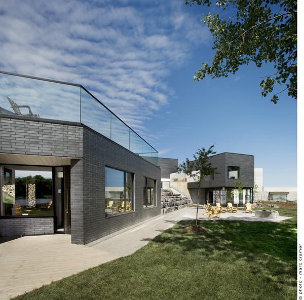 Ström Nordique Spa / Chevalier Morales Architects, © Marc Cramer