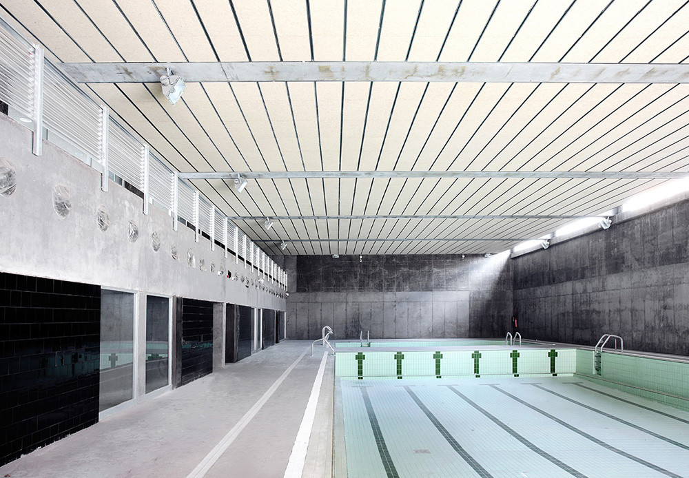 Gallery Of Sports Center And Indoor Pool Alday Jover
