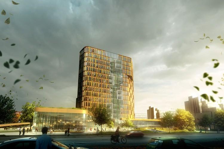 Torre Científica para la Universidad de Copenhague / CF Møller Architects, © Arkitektfirmaet C F Møller/Mir