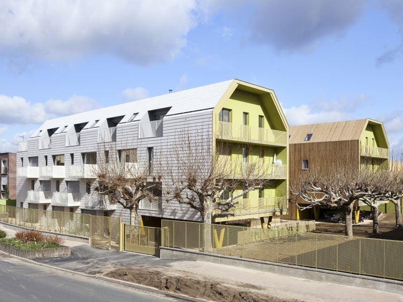 Vivienda Social en Bondy / Atelier Dupont, © imágenes vía Atelier Dupont