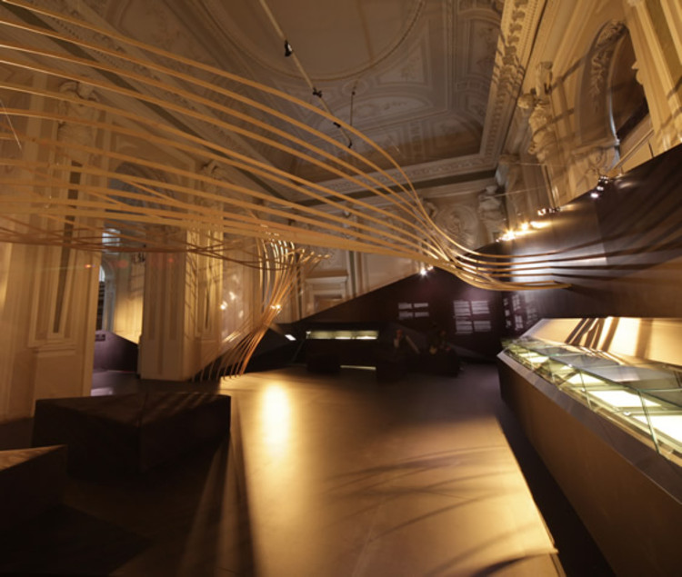 "Exposición ""Chopin's visiting card"" / WWA Architects, © Weheart"