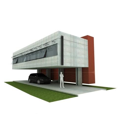 512908fdb3fc4b11a7005b65 Casa En El Aire Tda Render on Industrial Warehouse Exterior