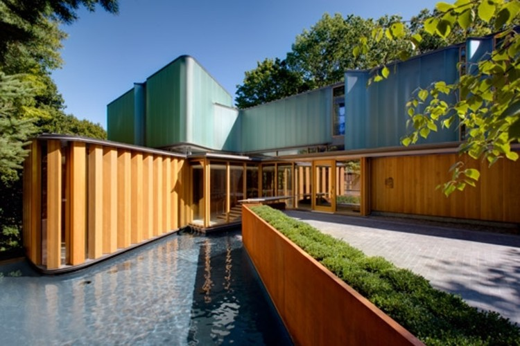 The Integral House / Shim-Sutcliffe Architects, Cortesía de Shim-Sutcliffe Architects