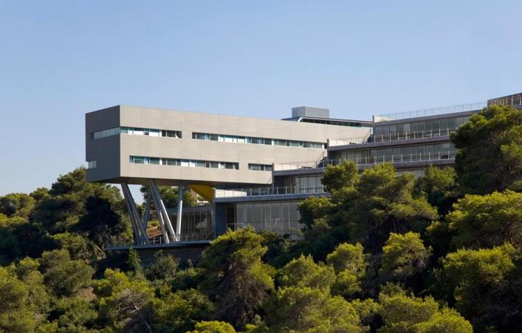 Centro de estudiantes de la Universidad de Haifa / Chyutin Architects, © Amit Giron