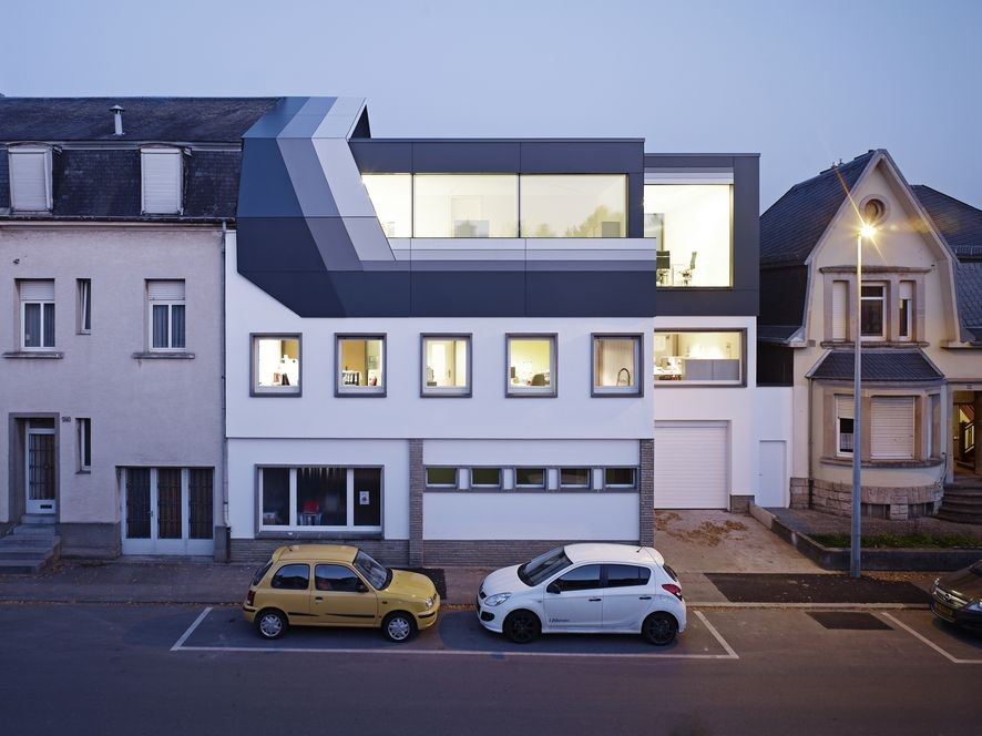 Roof Top Office Dudelange / Dagli + Atélier D'Architecture, © Jörg Hempel Photodesign