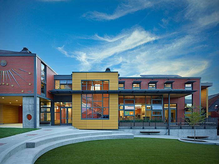Escuela Epifanía / Miller Hull Partnership, © Benjamin Benschneider
