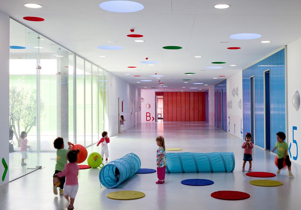 Pablo Neruda Nursery School / Rueda Pizarro, © Miguel de Guzmán