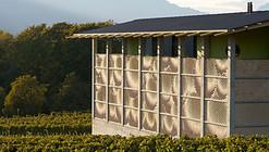 Fachada en Bodega para vinos / Gramazio & Kohler