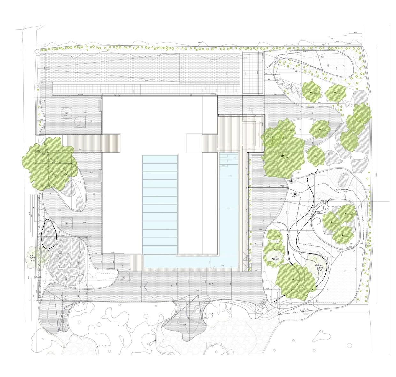 Galer a de casa en el cerro miguel barahona pyf for Plan de arquitectura