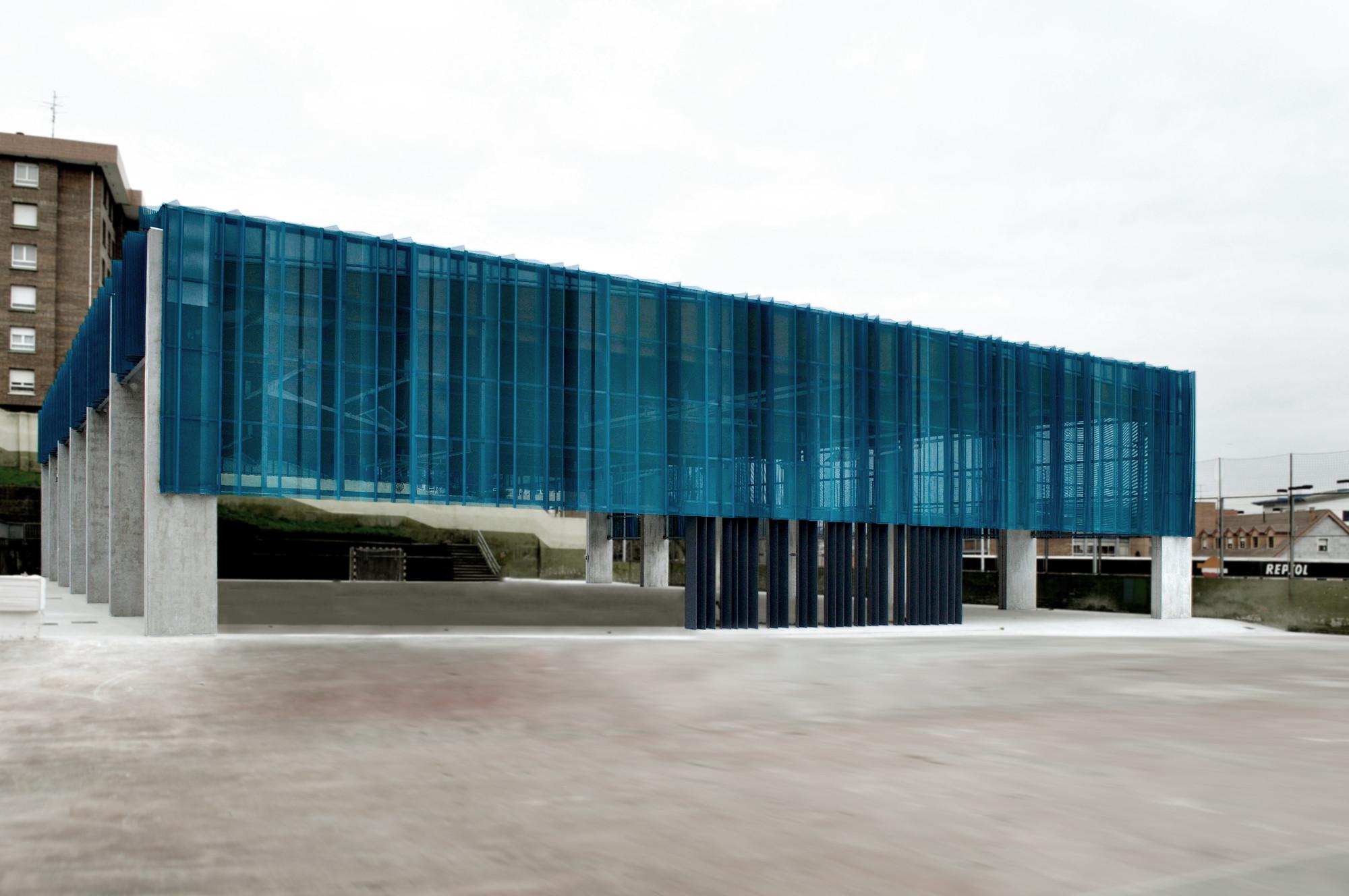 Cubrición Pista Polideportiva en Barakaldo / Garmendia Arquitectos, © Carlos Garmendia Fernández