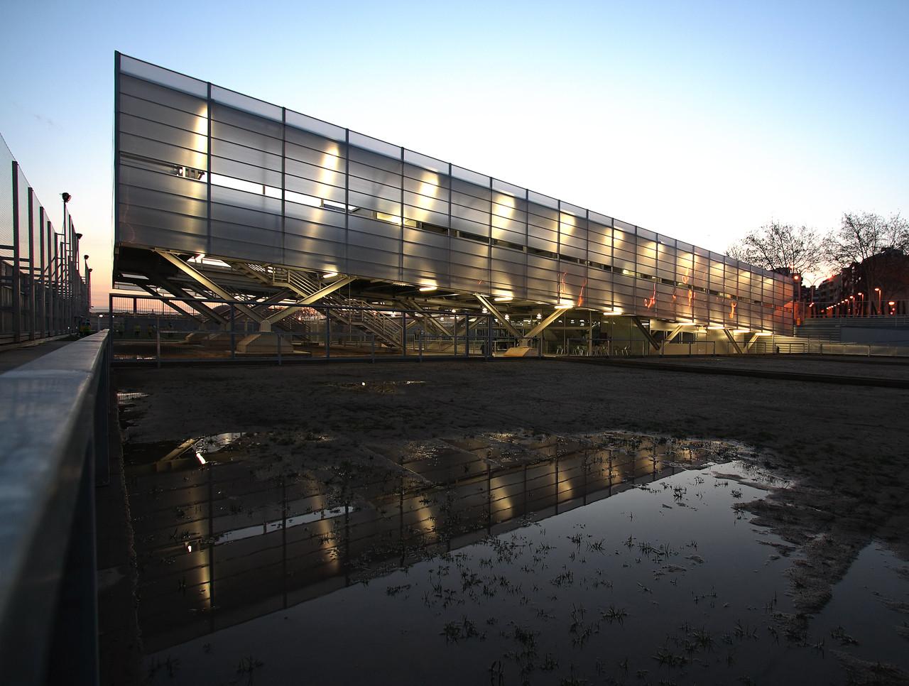 Zona Deportiva Salvador Espriu / Soldevila Arquitectos, © M. Grassi
