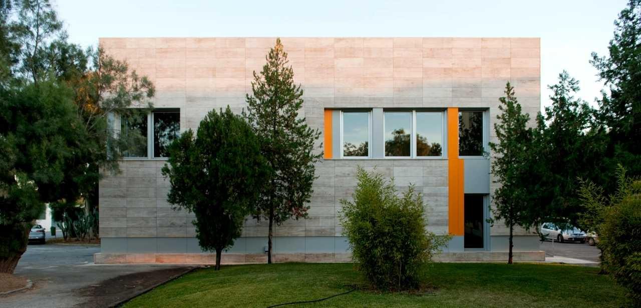 Biblioteca y Salón de actos del Centro Educativo CIFEA / Miguel Ángel Aznar