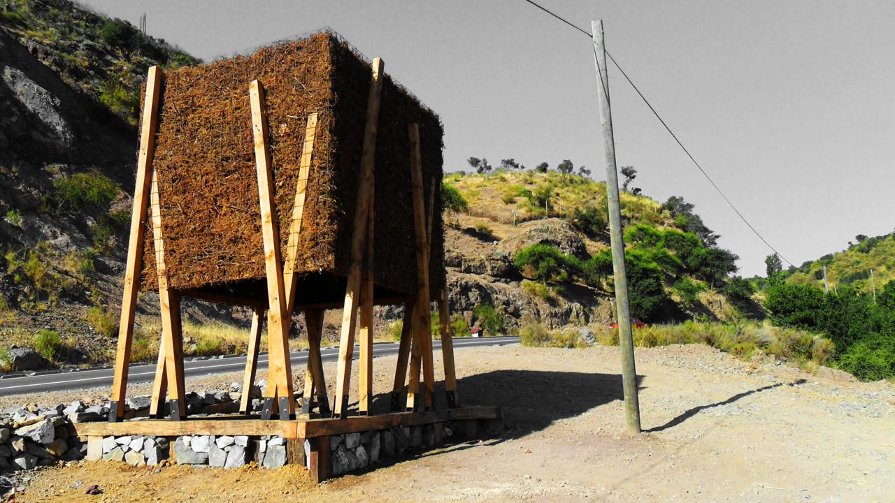 Intervención en el Paisaje, La Lajuela / Claudio Urzúa Barraza, © Claudio Urzúa Barraza