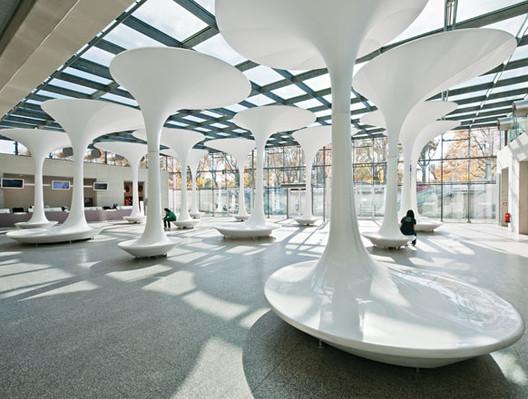 Nuevo Acceso Museo Técnico TMW / Querkraft Architects, © Hertha Hurnaus
