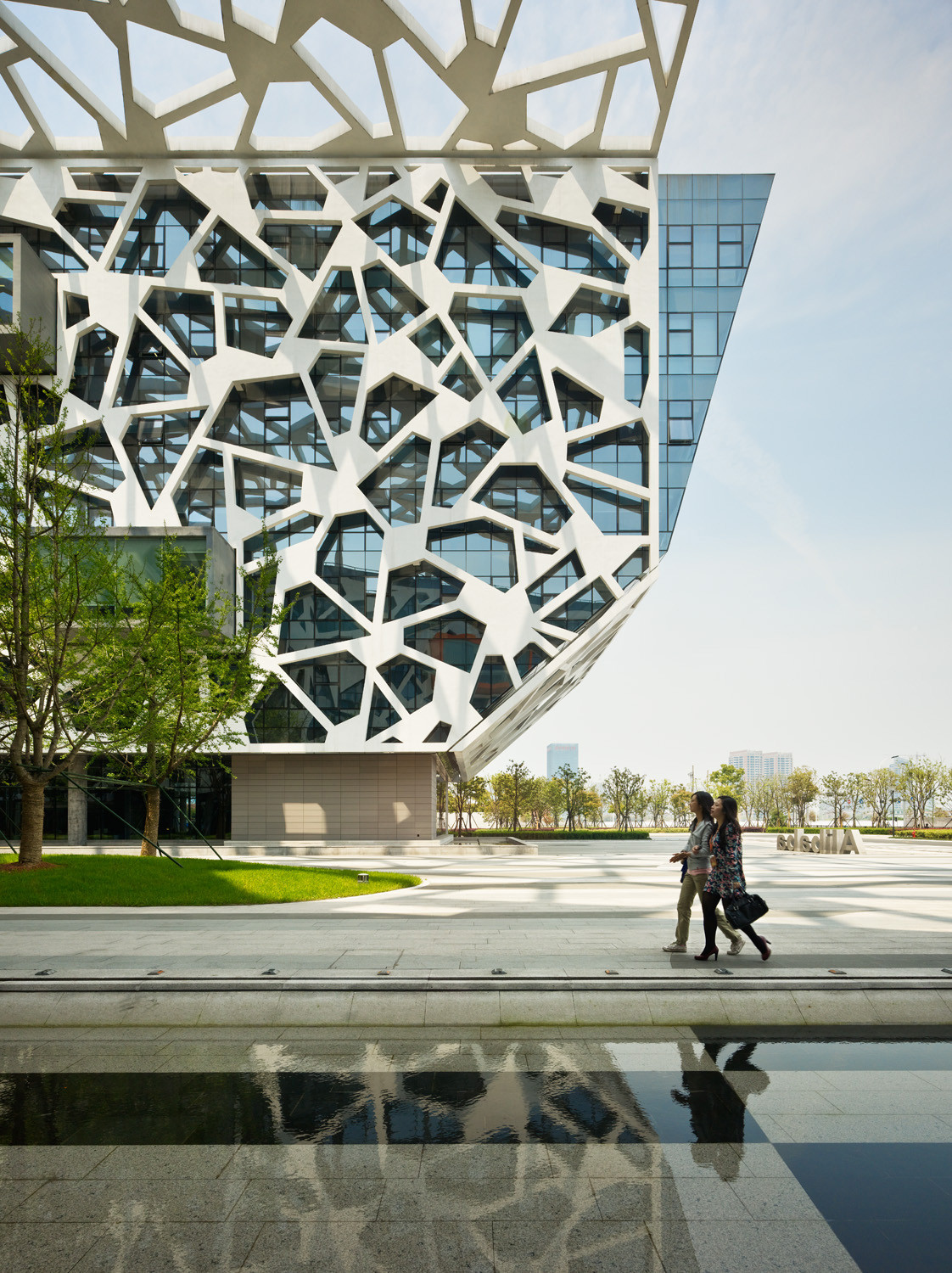 Oficina Central Alibaba / Hassell, © Peter Bennetts