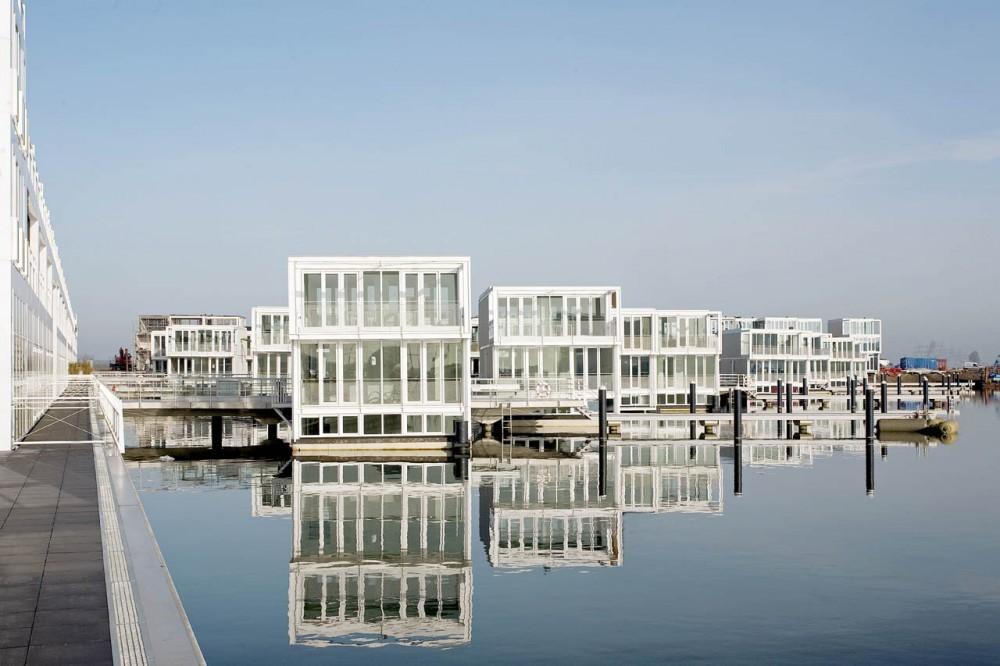 Casas Flotantes en IJburg / Architectenbureau Marlies Rohmer, © Marcel van der Burg