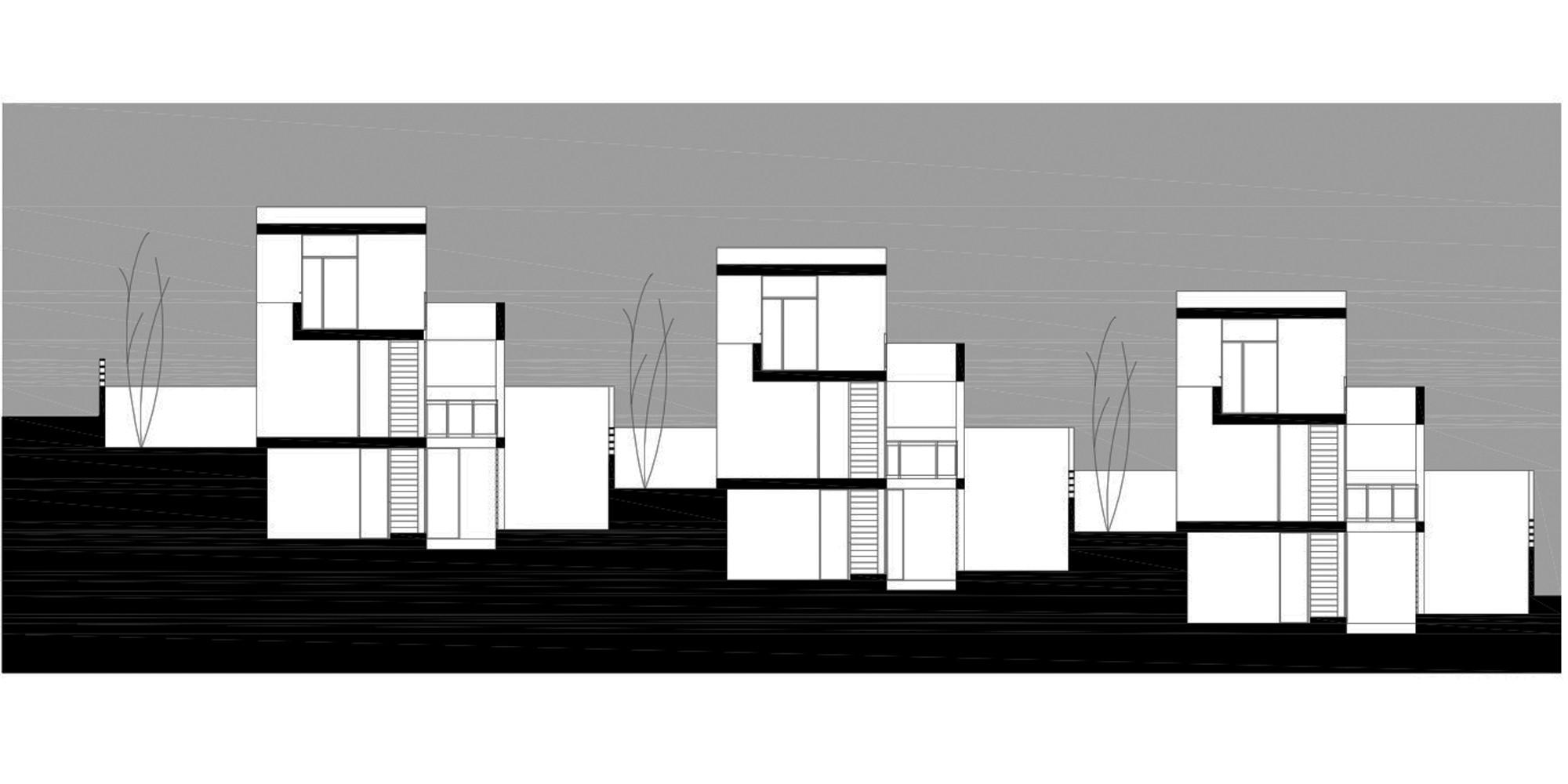 6 viviendas unifamiliares de santa b rbara antonio - Proyectos casas unifamiliares ...