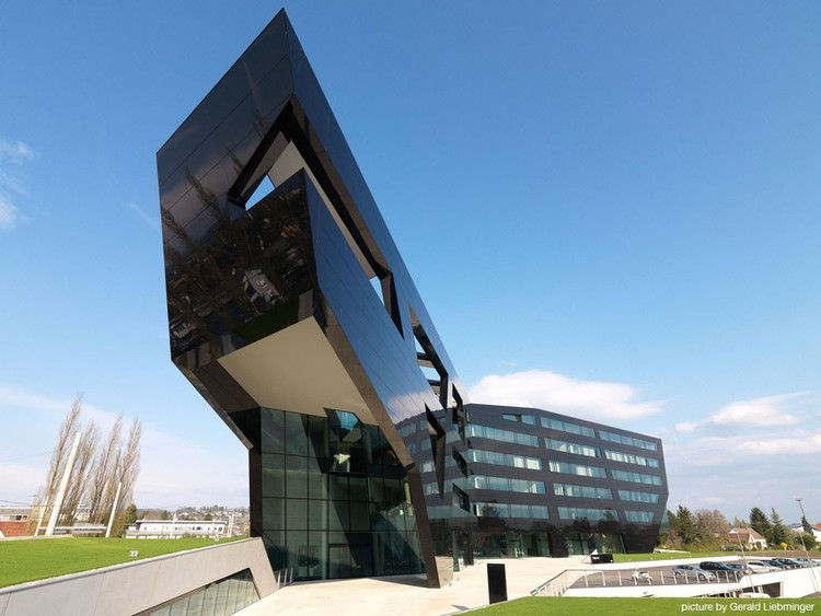 Oficinas Centrales Uniopt Pachleitner Group / GS Architects, © Gerald Liebminger