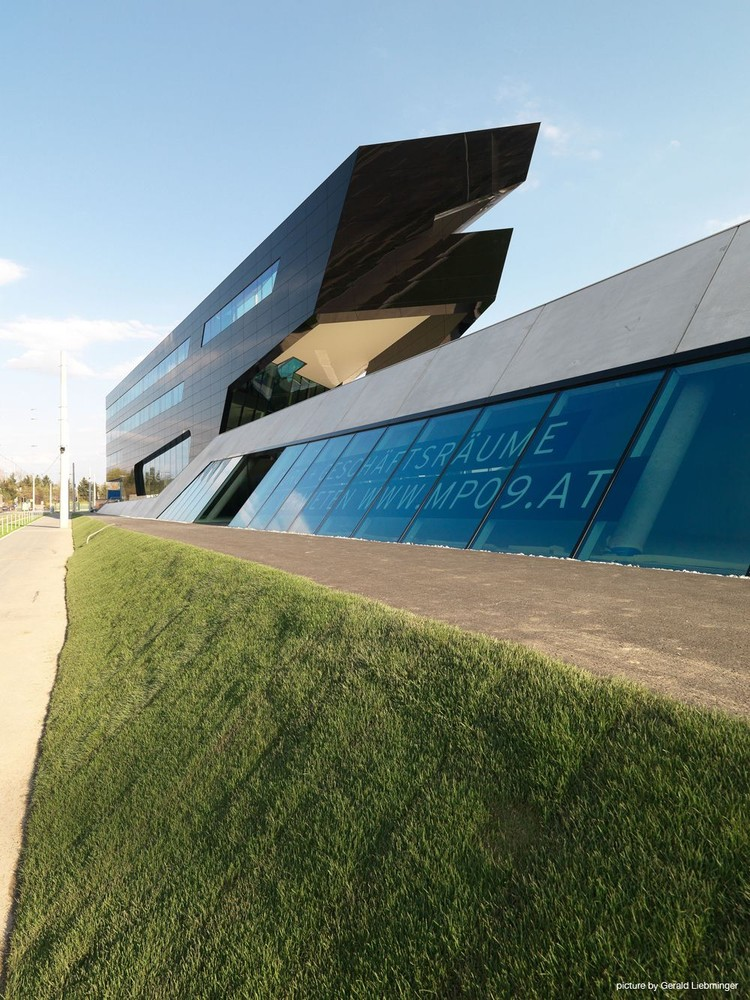 Oficinas centrales uniopt pachleitner group gs for Blau hotels oficinas centrales
