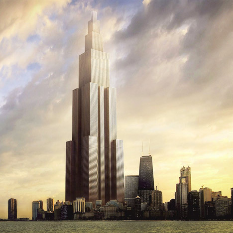 Sky City is planned to be the world's tallest skyscraper, constructed entirely through pre-fab.