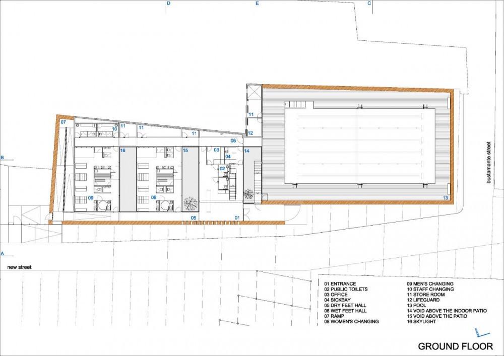Piscina municipal de toro vier arquitectos plataforma - Medidas de piscinas de casas ...