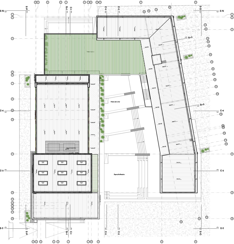 Galeria Arquitectonica: Galería De Centro Cultural Alto Hospicio / BiS Arquitectos