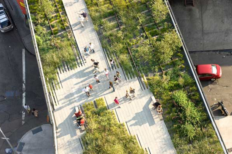 O que é uma cidade biofílica?, High Line, Nova York - Via landarchs.com