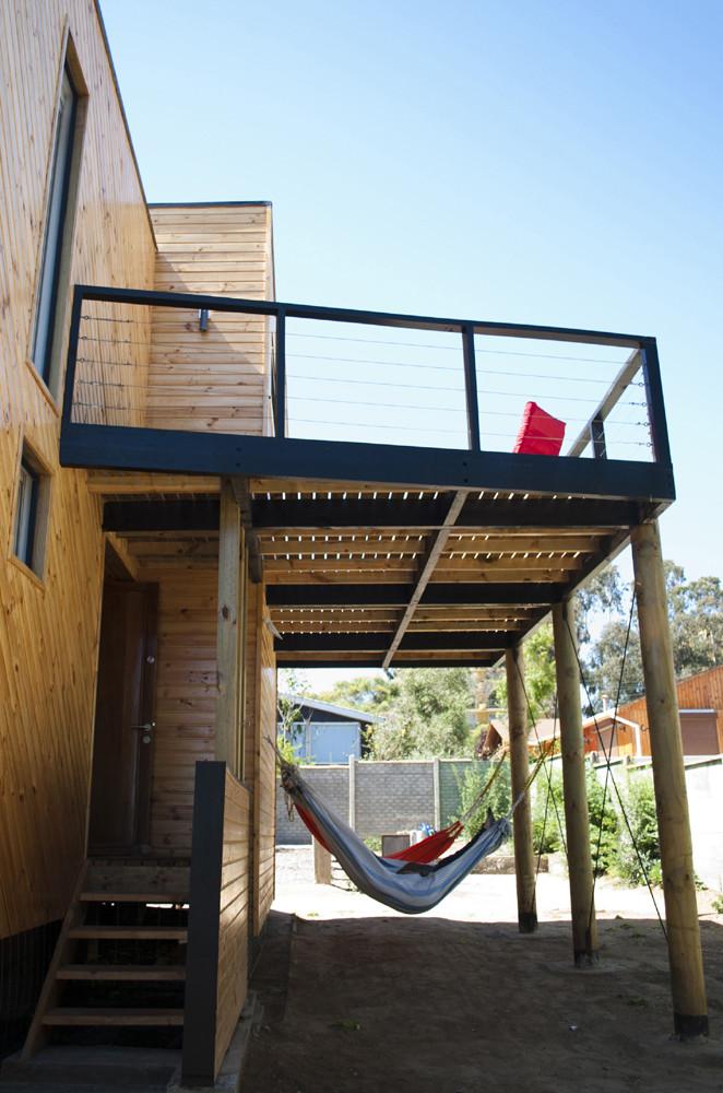 Casa 373 c arquitectura plataforma arquitectura for Terrazas modernas en segundo piso