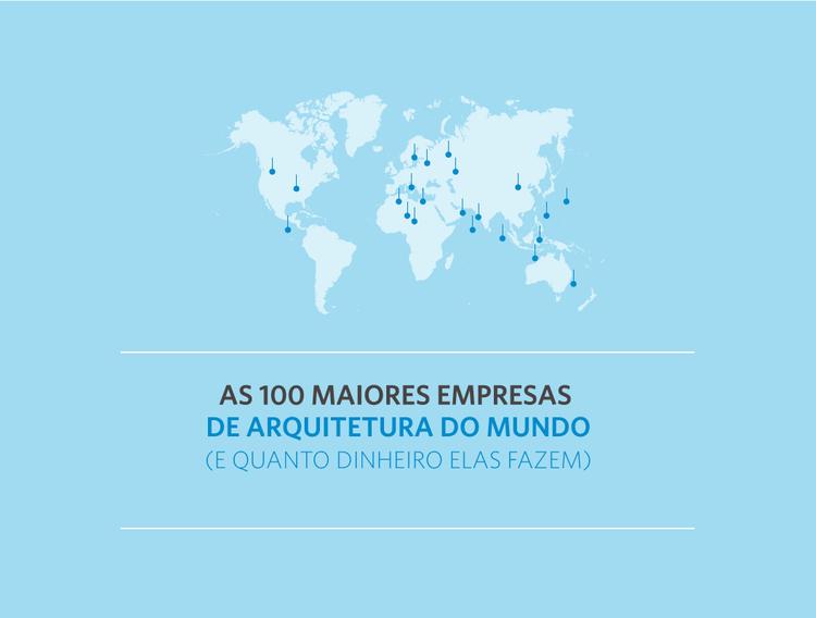 As 100 maiores empresas de arquitetura do mundo