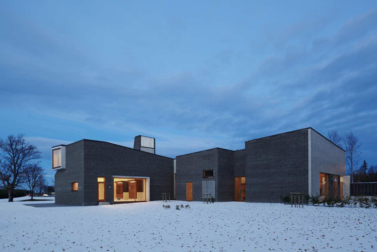 Crematorio Vestfold / Pushak, © Pushak