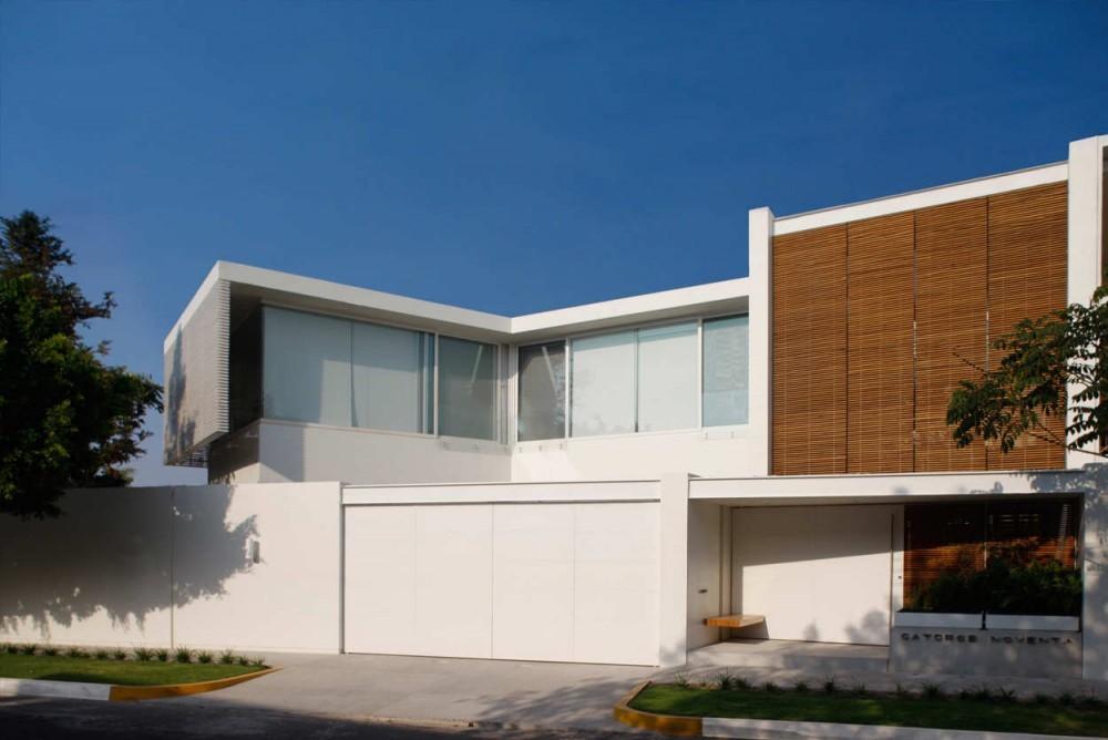 Casa Lucke Orozco / Hernández Silva Arquitectos, © Carlos Díaz Corona