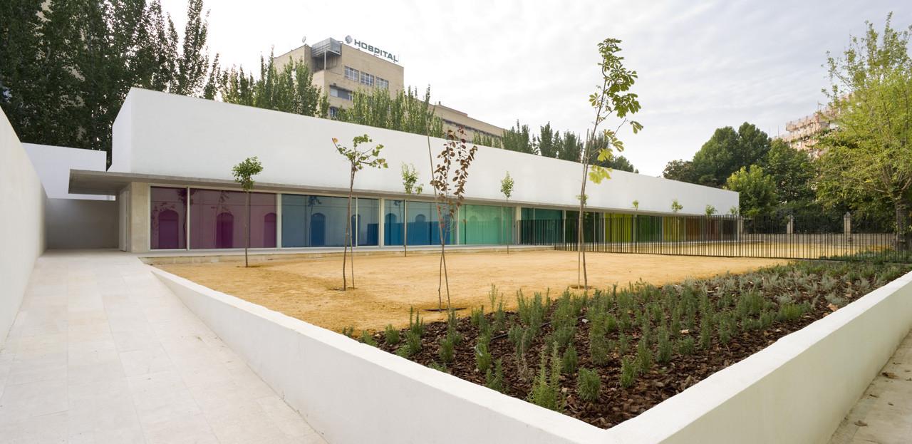 Escuela Infantil y Comedor Municipal en los Mondragones / Elisa Valero Arquitectura, © Fernando Alda