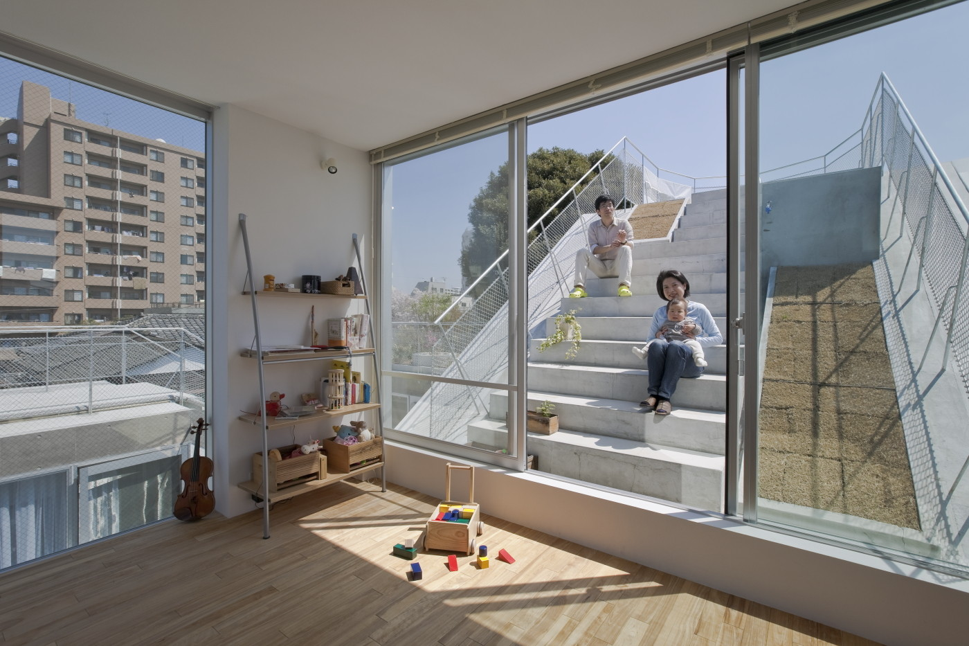 Gallery of Slide / Komada Architects' Office - 4