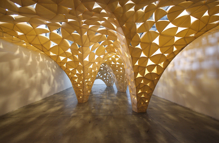 Voussoir Cloud / IwamotoScott Architecture + Buro Happold, © Judson Terry
