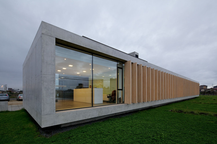 Edificio TVN / Nicolás Lipthay, © Nico Saieh
