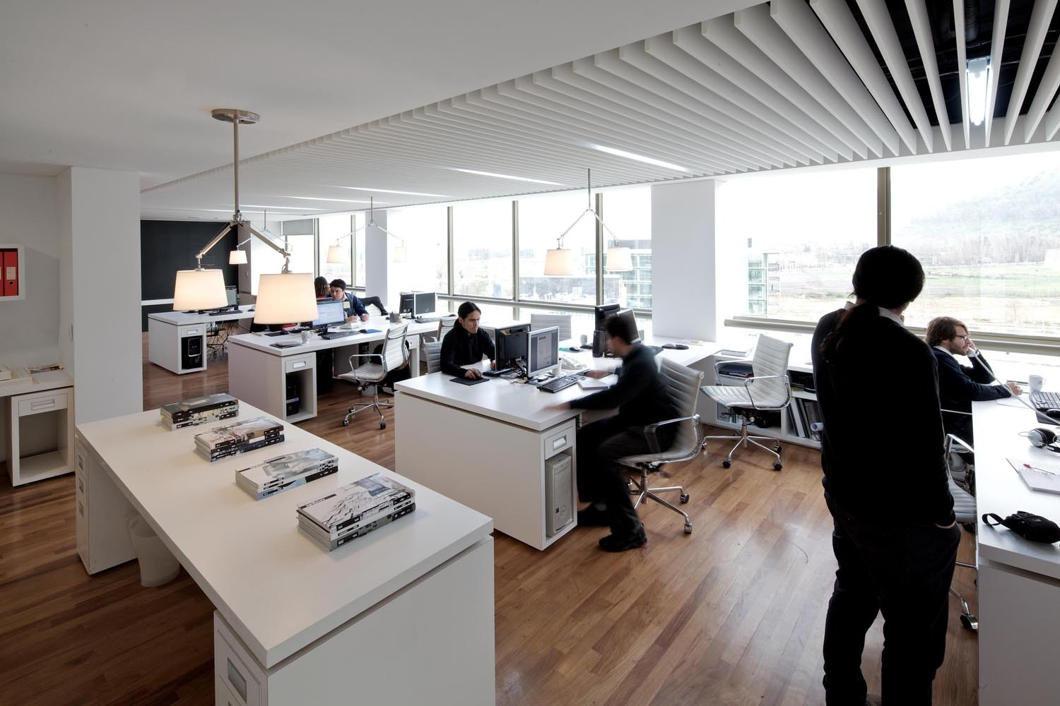 Arquitectura De Oficinas Of Oficinas Kitcorp Nicol S Lipthay Kitcorp Plataforma