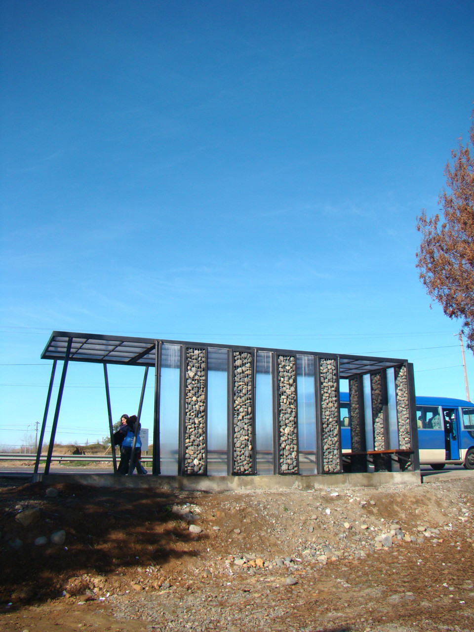 Construcción y hermoseamiento, acceso Comuna de San Rafael / Pablo Vergara Herrera