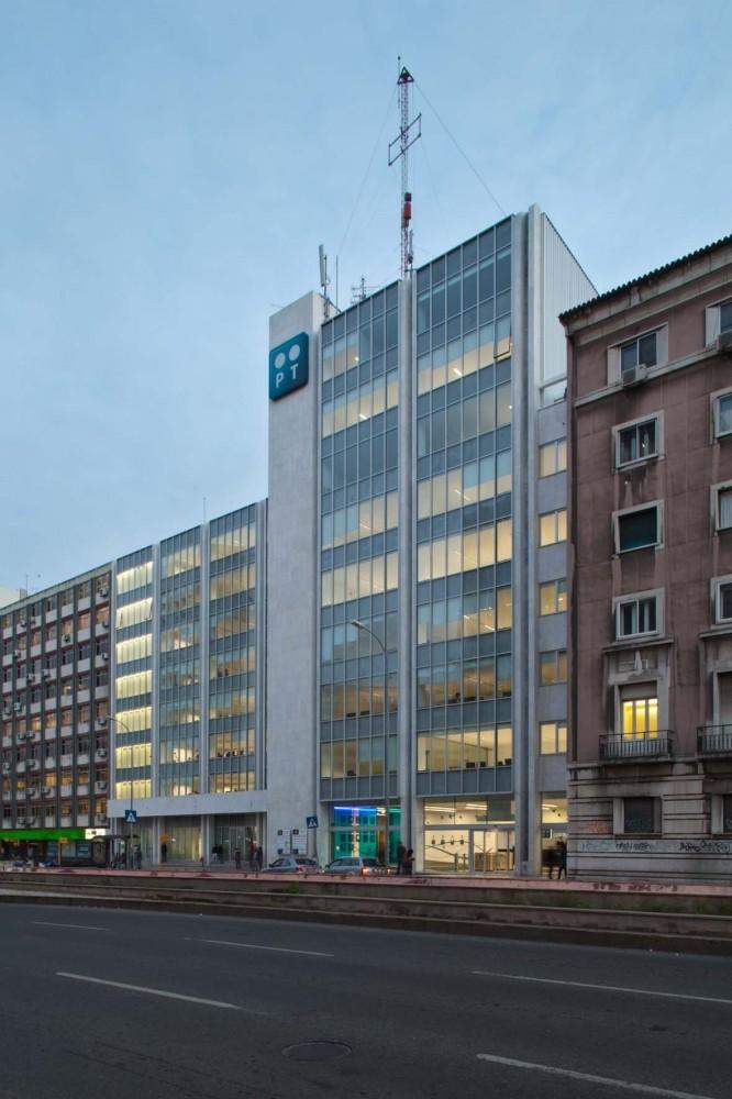 Edificio de Oficina Telecom / Oficina Ideias em Linha, © Francisco Nogueira