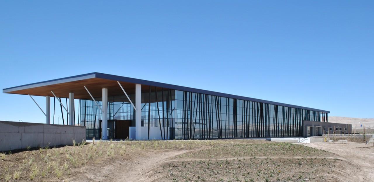Centro Deportivo y Recreacional de Trabajadores rol B de Codelco / Valle & Cornejo Arquitectos, © Valle & Cornejo Arquitectos