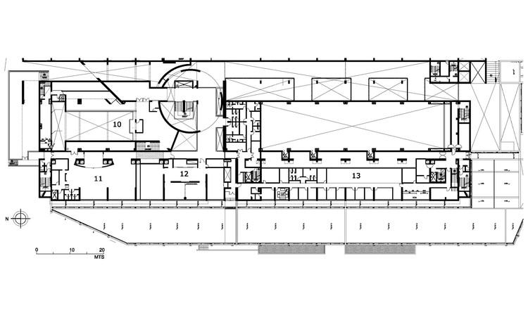 Hotel del desierto estudio larrain plataforma arquitectura for Pie de plano arquitectonico