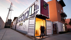 Proyecto Periscopio: Galería de Arte de Containers / ENS_Projects