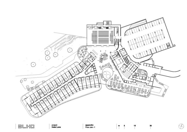 Hotel lone 3lhd plataforma arquitectura for Hoteles en planta