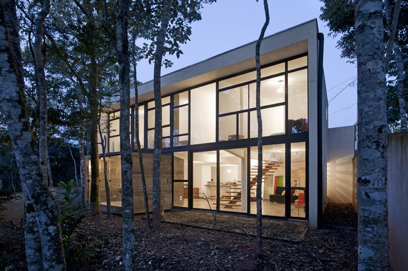 Casa HAZP / Frederico Zanelato | Arquitetos, © Peter Abude