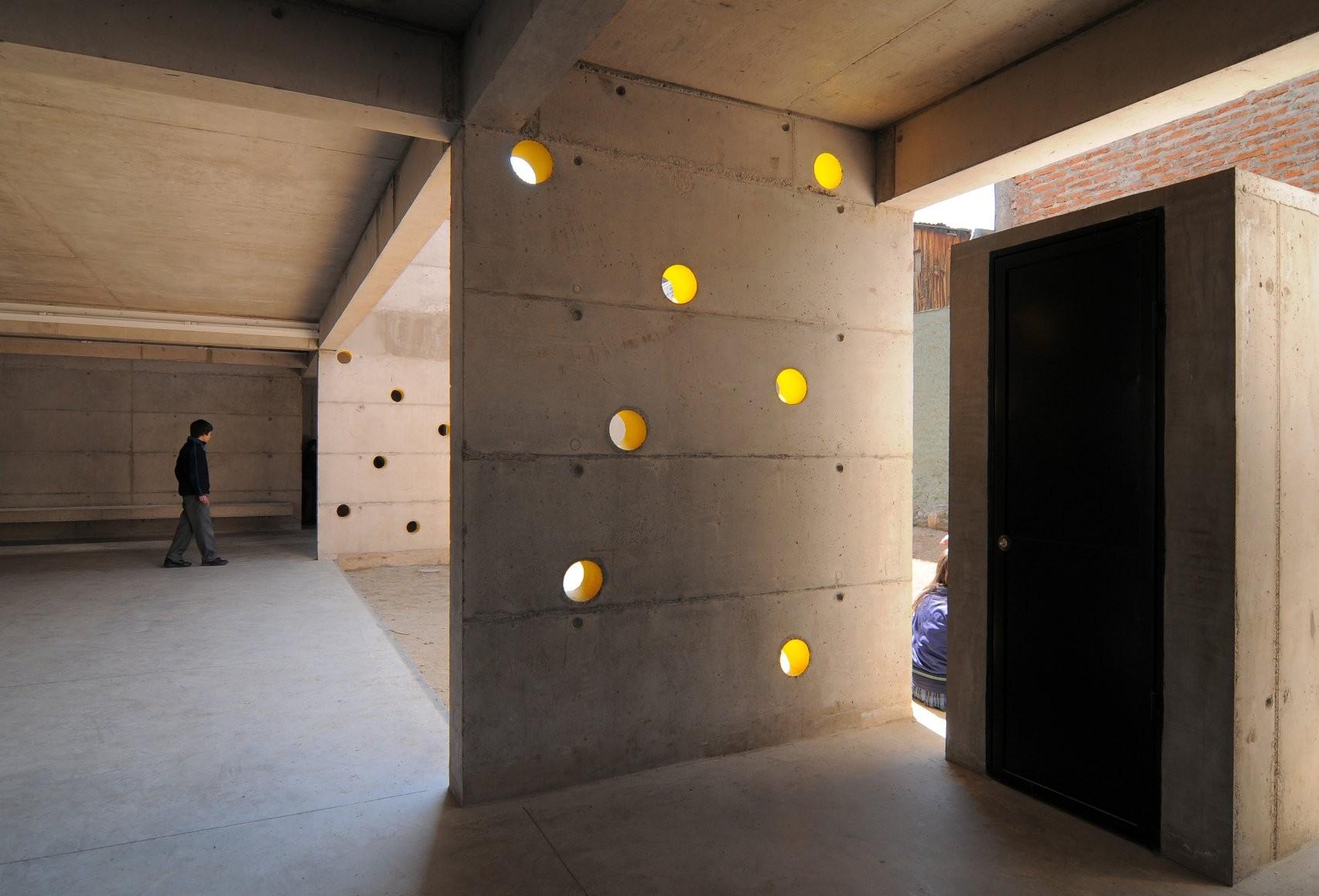galeria de col gio villa el sol gubbins arquitectos 2. Black Bedroom Furniture Sets. Home Design Ideas