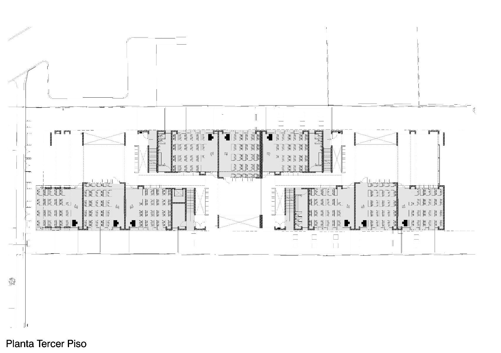 Galer a de colegio villa el sol gubbins arquitectos 23 for Plantas de colegios arquitectura