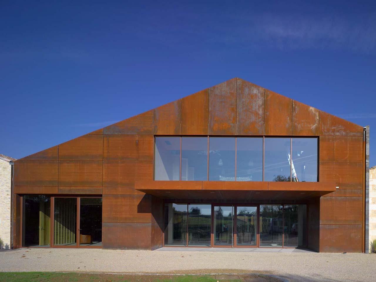 Viña Chateau Barde-Haut / Nadau Lavergne Architects, © Philippe Caumes