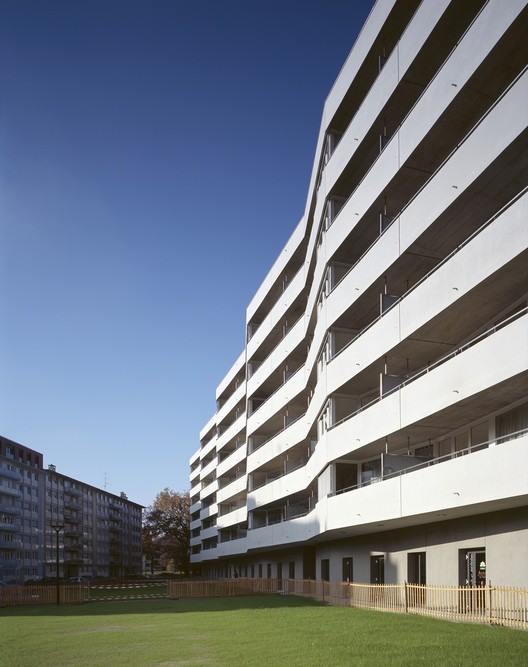 120 affordable appartments / meier + associés architectes  + Burckhardt Partner , © Jean-Michel Landecy