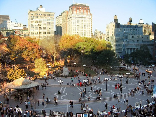 Union Square via Wikimedia Commons