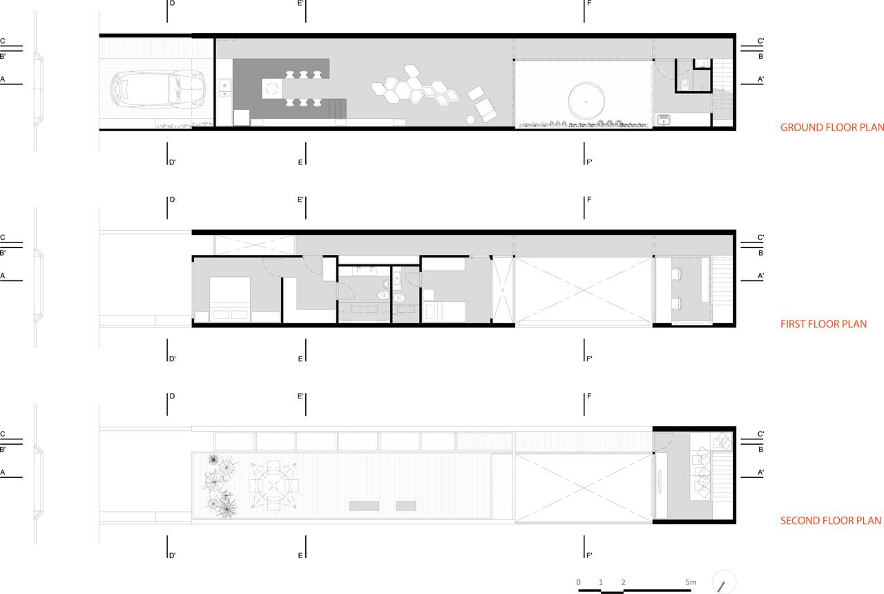 Casa 4 X 30 Fgmf Arquitectos Cr2 Arquitectos Archdaily Perú